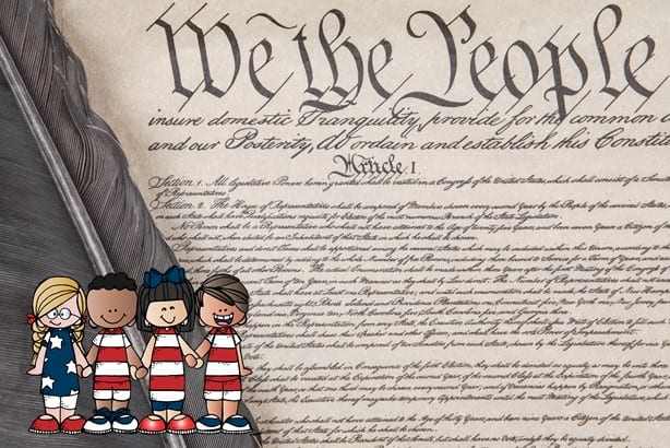 ideas for teaching elementary students about the u.s. constitution