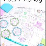 free mulitplication fact fluency practice activities