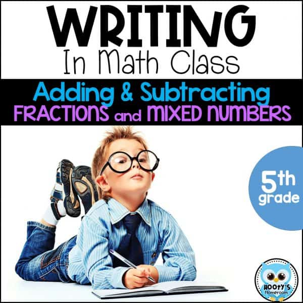 writing in math class cover image