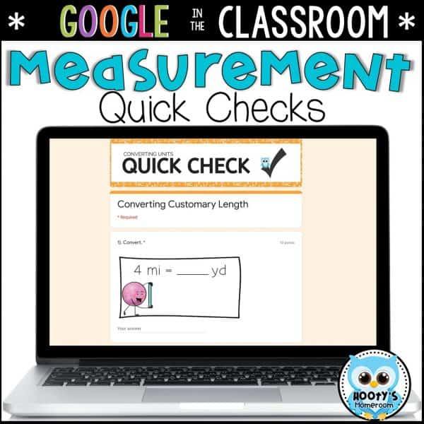 measurement conversions sample question