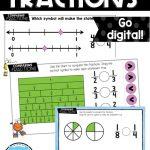 comparing fractions digital bundle
