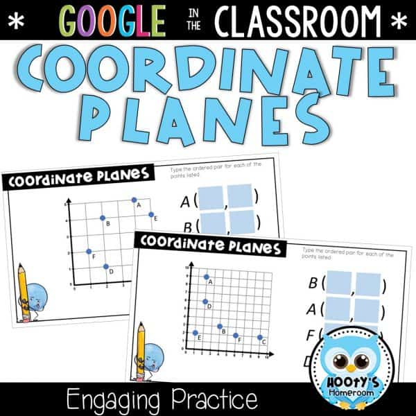 sample questions from coordinat eplanes digital activities