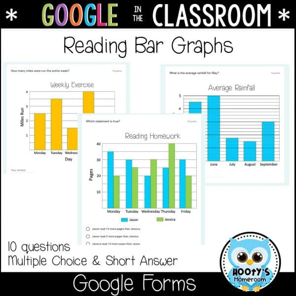 sample bar graph questions in google forms
