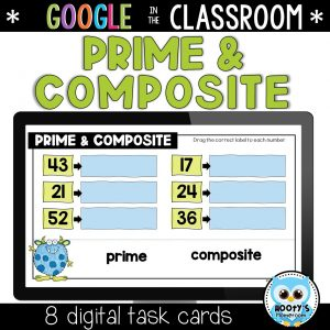 prime and composite numbers sample question