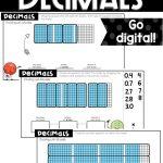 sample dividing decimals using models digital activities