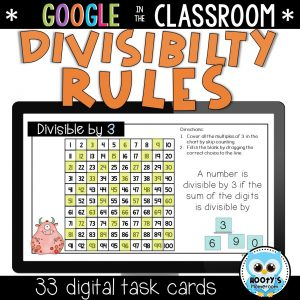 sample activity from divisibility rules resource