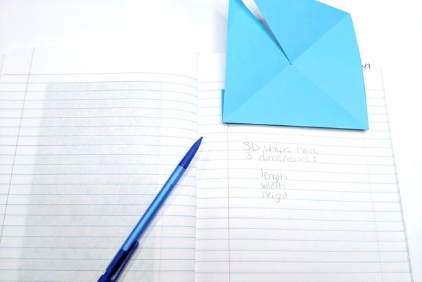 lift up the interactive notes to write more notes underneath