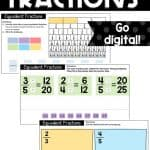 sample equivalent fractions activities