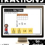 sample question from dividing unit fractions with models