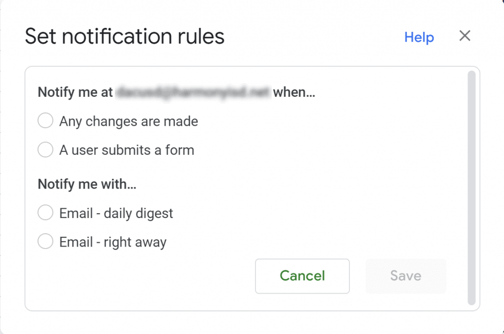 4 options for setting up google sheets to send late work notifications