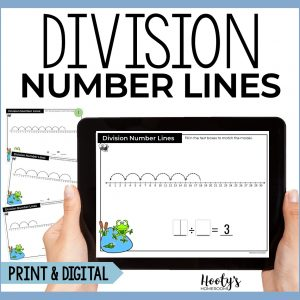 division number lines boom cards